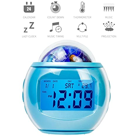 Amazon projection alarm clockdigital alarm clockalarm clock projection alarm clockdigital alarm clockalarm clock projection on ceilingmusic atomic mozeypictures Image collections
