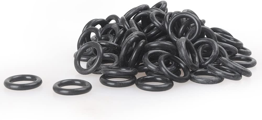 Gzyf Noir Huile Bouchon de vidange joints toriques de remplacement pour Harley Davidson 100/pcs