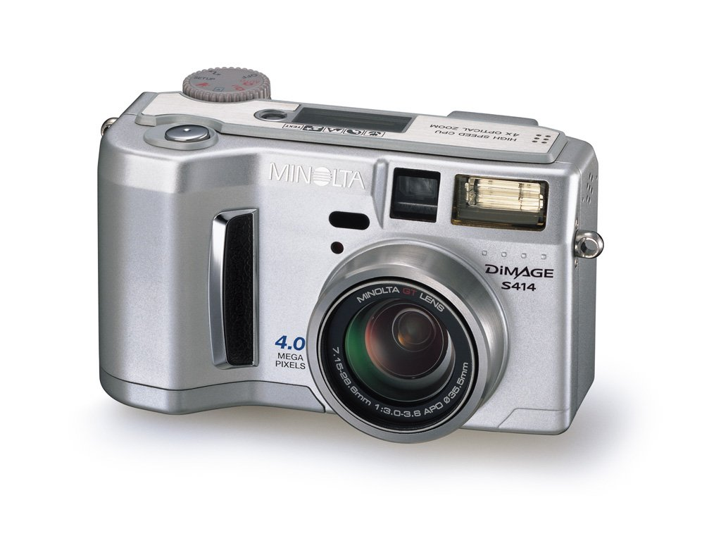 Amazon.com : Konica Minolta Dimage S414 4MP Digital Camera w/ 4x Optical  Zoom : Point And Shoot Digital Cameras : Camera & Photo