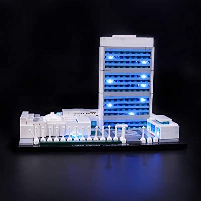 LIGHTAILING Light Set for (Architecture United Nations Headquarters) Building Blocks Model - Led Light kit Compatible with Lego 21018(NOT Included The Model): Toys & Games
