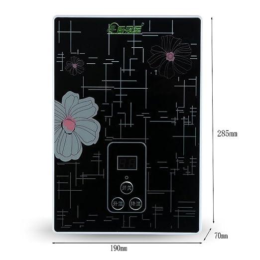 LJ Calentador de agua eléctrico Calentador de agua instantáneo Calentador de agua sin tanque para baño Cocina 220V (Color : Blanco , Tamaño : 5500w) : ...