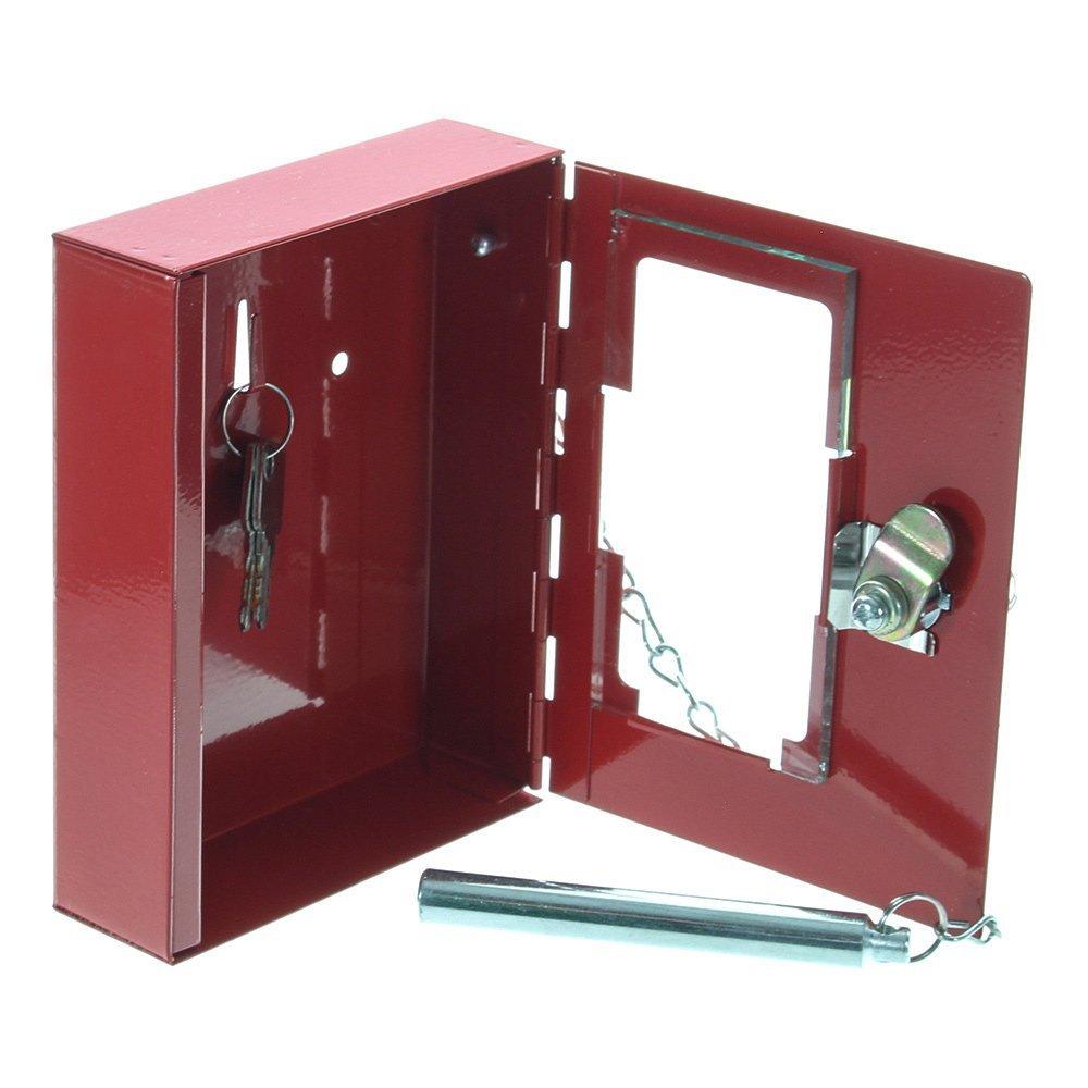 Rottner 1334 NSK1 - Armadietto per chiavi di emergenza completo di martelletto con catena Comsafe
