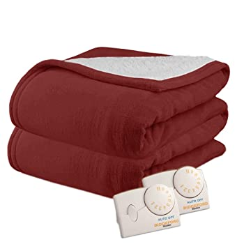 Pure Warmth 10 Heat Settings King Size Electric Blanket