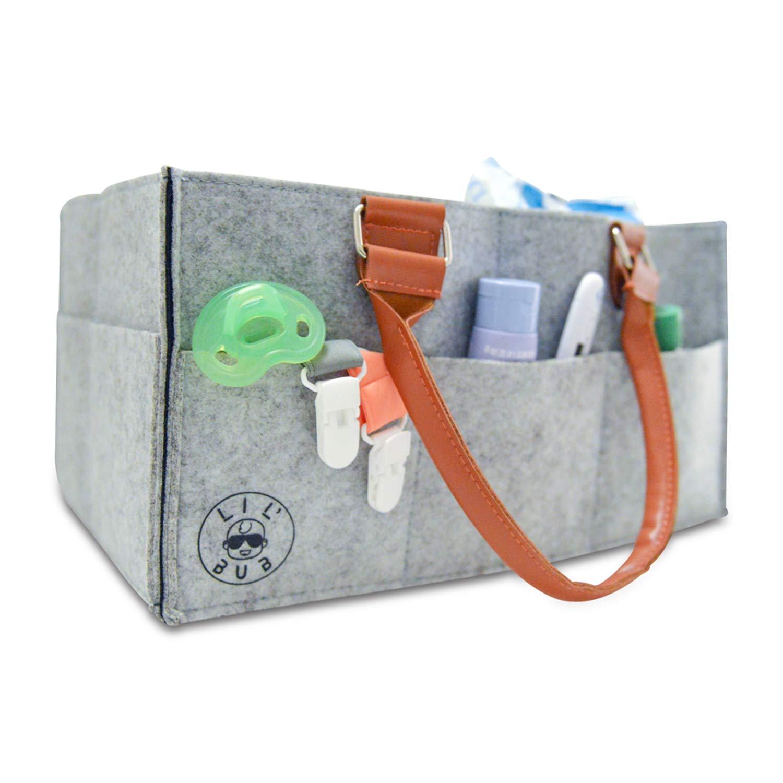 Amazon.com: Organizador de pañales portátil para pañales y ...