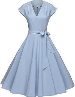 Vintage 1950s Blue Prom Dresses