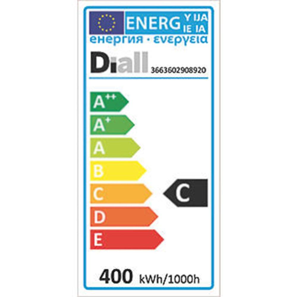 400 W 230 V 8550 lm regulables 3 unidades tubo blanco c/álido L/ámparas hal/ógenas lineales de 118 mm de Diall