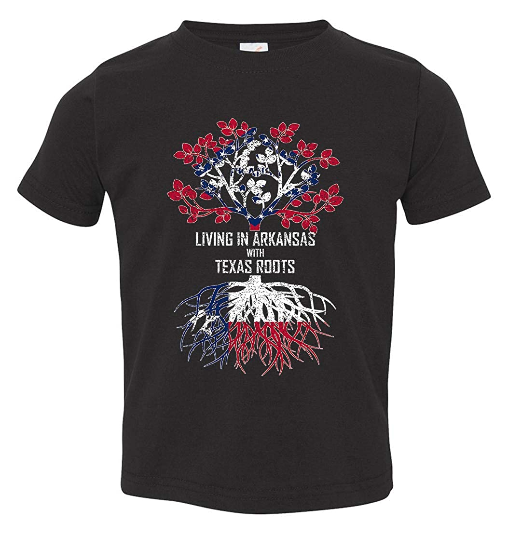 Tenacitee Babys Living in Arkansas Texas Roots Shirt