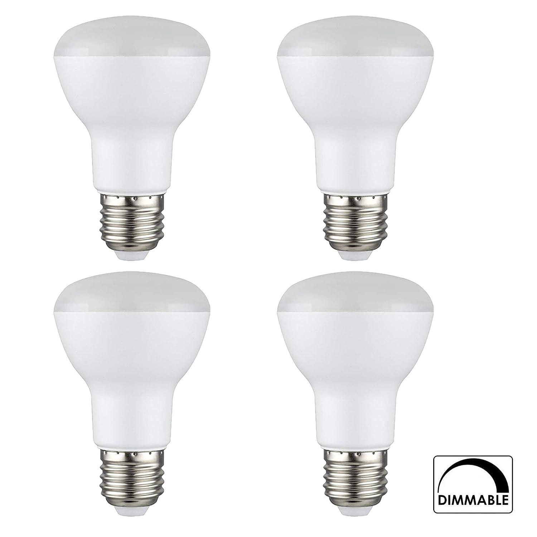 [4個パック] PROCURU BR20 LED電球 5.5W (50W相当) フラッド調光機能付き 2700K 温白色 525ルーメン 屋内/屋外 UL&エネルギースター認定   B07LFSVR1P
