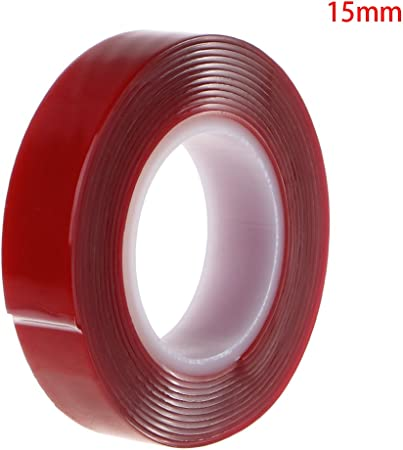 5 15 mm haute résistance 3M 10 Adhésif double face ruban acrylique 3