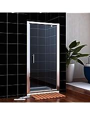 Modern Bathroom Pivot Shower Door 6mm Glass Shower Enclosure