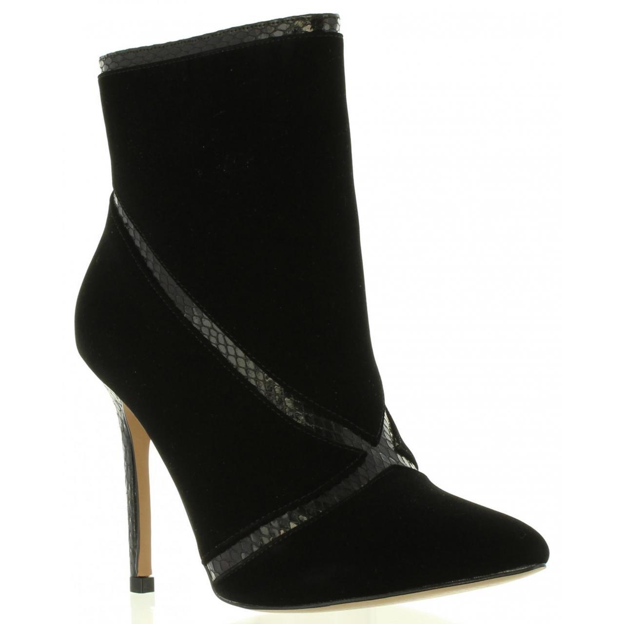 Botines de Mujer MARIA MARE 61366 C28289 Peach Negro: Amazon.es: Zapatos y complementos