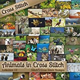 Counted Cross Stitch Patterns - Animals in Cross Stitch Collection Two - 50 Photorealistic Animal Cross Stitch Designs on CD