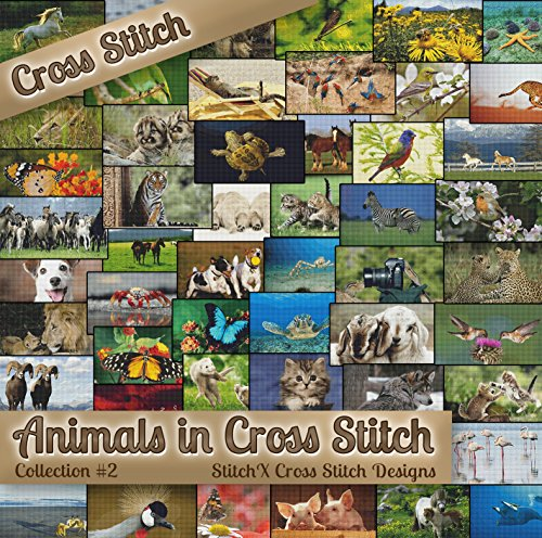 Patterns - Animals in Cross Stitch Collection Two - 50 Photorealistic Animal Cross Stitch Designs on CD ()