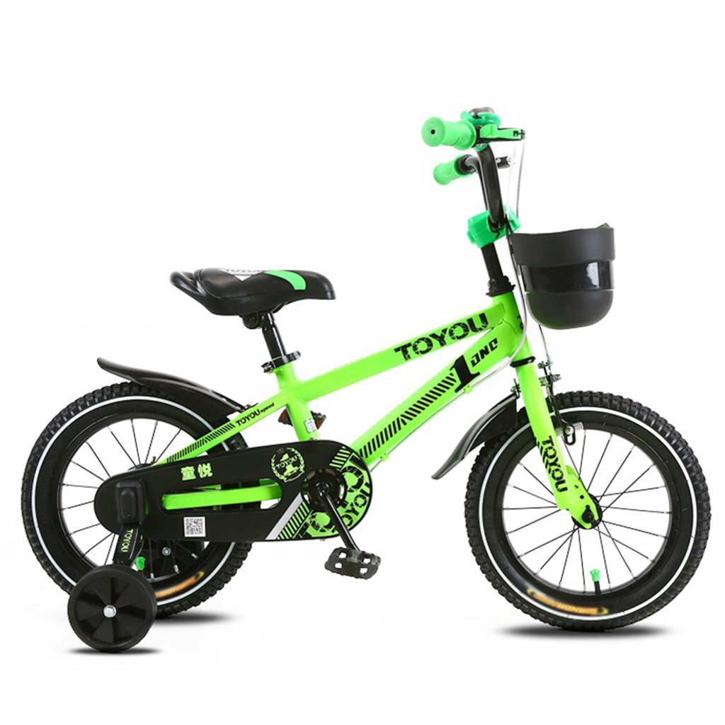 CSQ 子供の自転車、サイドの車輪のバスケット付きの赤ちゃんのための赤ちゃん快適な座席2-10歳の使用93-120CM 子供用自転車 (色 : B, サイズ さいず : 120CM) B07DXHRKS8 120CM|B B 120CM