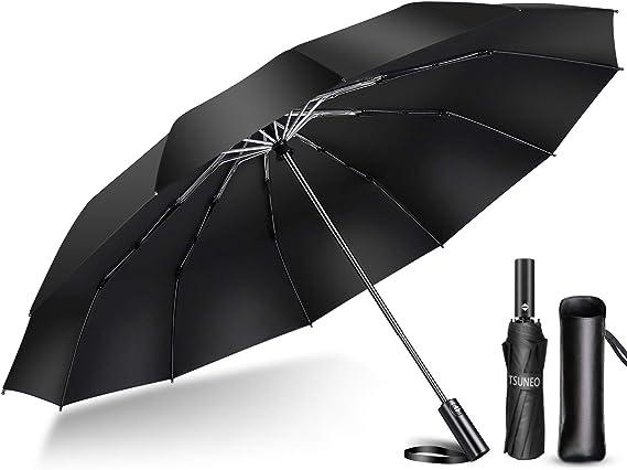 Amazon | 【2020年強化版 12本骨】 折りたたみ傘 自動開閉 軽量 ...