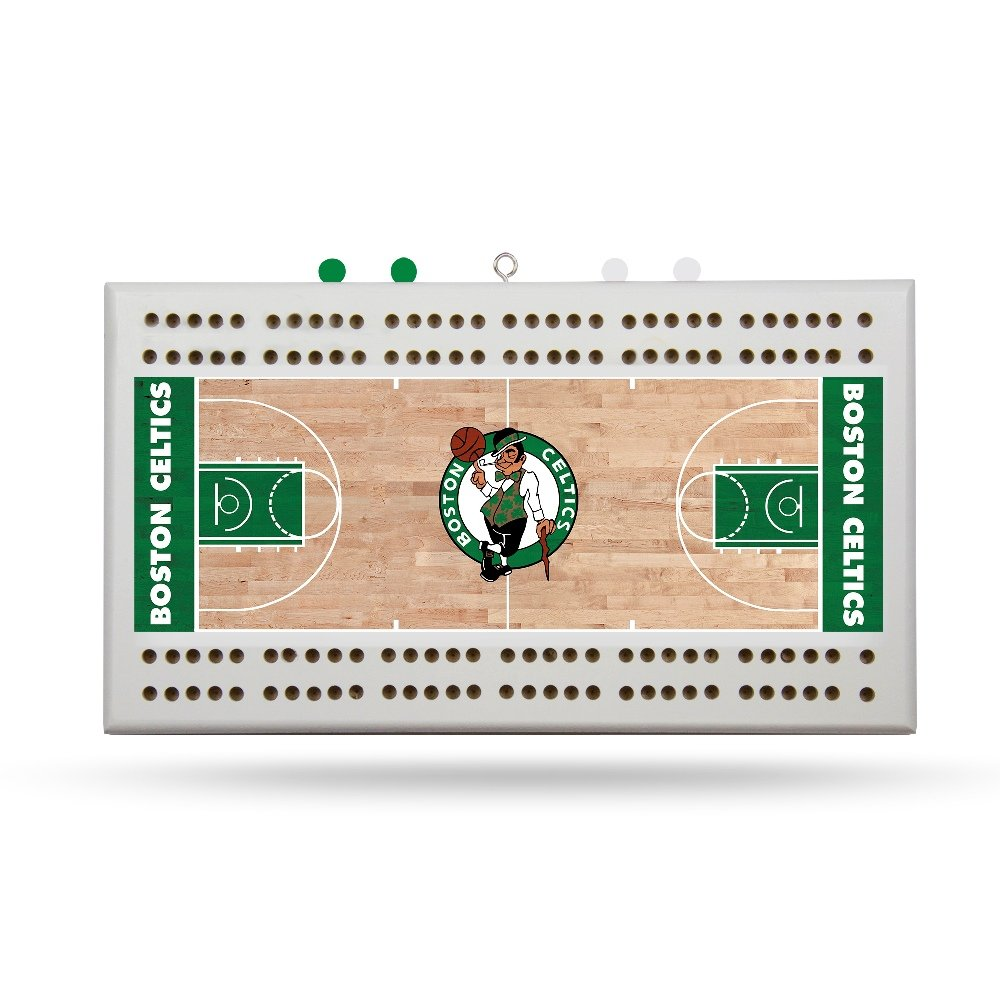 Rico Boston Celtics NBA Licensed 2 Track Cribbage Board