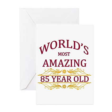 Amazon cafepress 85th birthday greeting card note card cafepress 85th birthday greeting card note card birthday card blank m4hsunfo