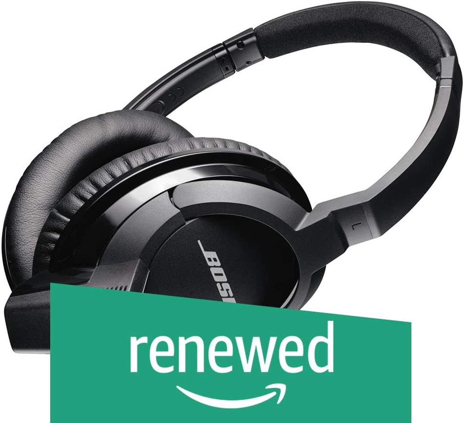 Bose SoundLink Around-Ear Bluetooth Headphones, Black (Discontinued by Manufacturer) (Renewed)