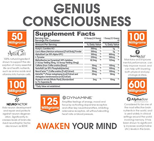 GENIUS-CONSCIOUSNESS-Super-Nootropic-Brain-Booster-Supplement-Enhance-Focus-Boost-Concentration-Improve-Memory-Mind-Enhancement-with-Alpha-GPC-Lions-Mane-Mushroom-for-Neuro-Energy-IQ