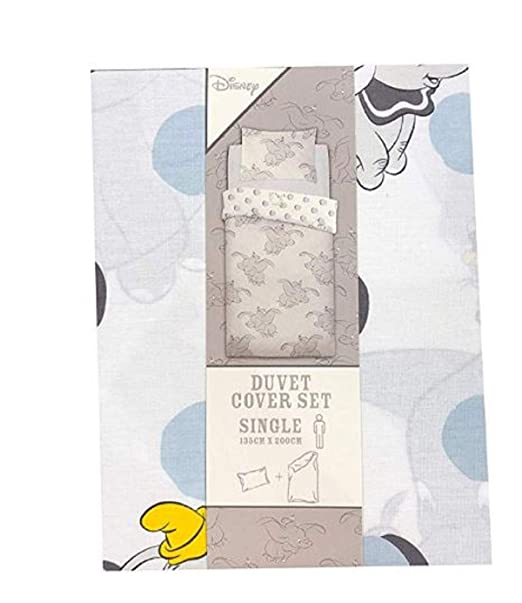 Primark Disney Dumbo - Juego de Funda de edredón Reversible ...
