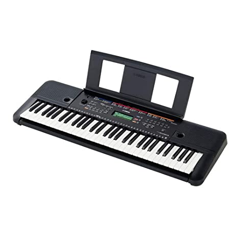 ce02c831cbe Yamaha PSR-E263 61-Key Portable Keyboard with adaptor  Amazon.in  Musical  Instruments