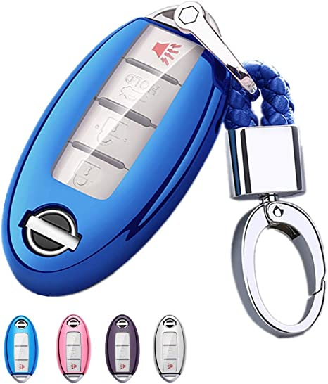 Amazon.com: Mofei - Carcasa para llave de Nissan Infiniti ...