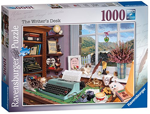 Ravensburger The Writer's Desk 1000pc Jigsaw - Writer French