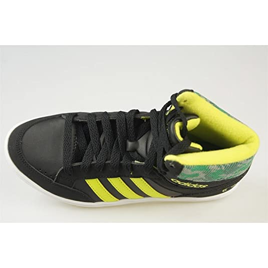 huge discount 5e614 42d53 Adidas - Hoops Mid K - CG5735 - Color  Negro-Verde-Amarillo - Size  37.3   Amazon.es  Zapatos y complementos