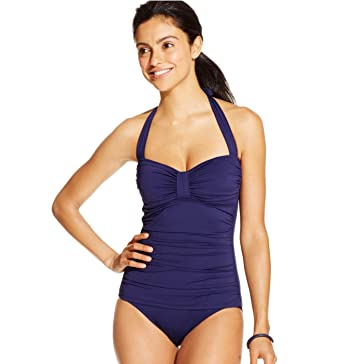 9417b74ef41 Image Unavailable. Image not available for. Color: Tommy Bahama Women's  Pearl Halter One Piece Swimsuit ...