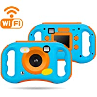 WEILIANTE Digital WiFi Camera for Kids, 12MP HD Video Camera Recorder with 2.0 Inch LCD Display, 5X Digital Zoom, Flash and Mic