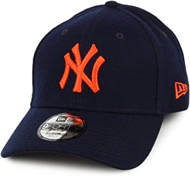 New Era York Yankees MLB Melton Navy Orange 940 9Forty Cap ...