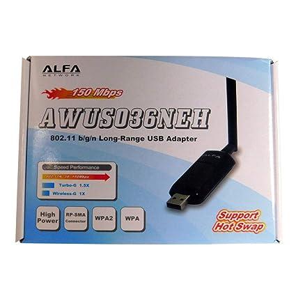 Alfa 1000mW 1W 802.11g/n High Gain USB Wireless G / N Long-