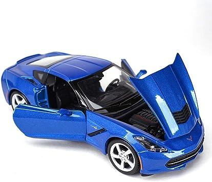 Kikioo 1:24 Corvete Modelo fundidos modelo de coche Abriendo ...