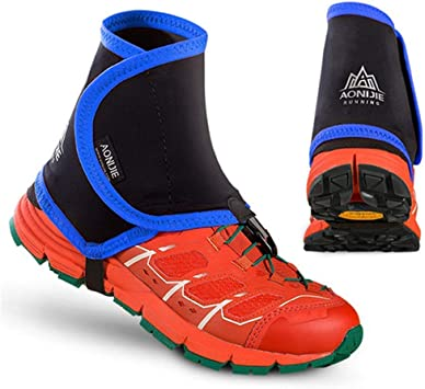 Outdoor Waterproof Ankle Walking Gaiters Leg Trail Gaiter Protective Shoe Covers