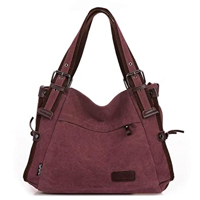 e48292ef839b Women Retro Hobo Handbags Casual Shoulder Bags Satchel Messenger Bag Purse