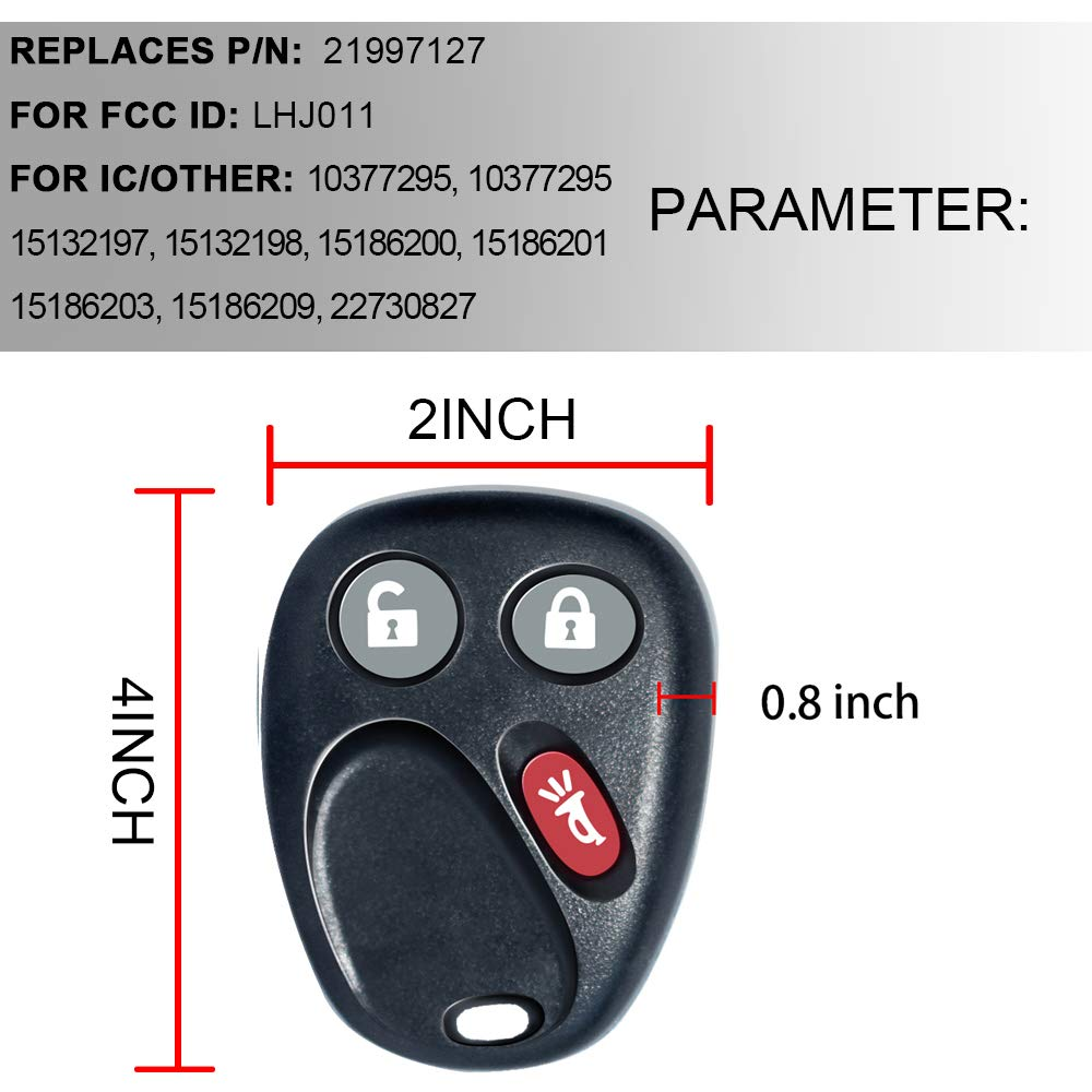 Automotive Motors eledenimport.com TURBOSII Keyless Entry Remote ...