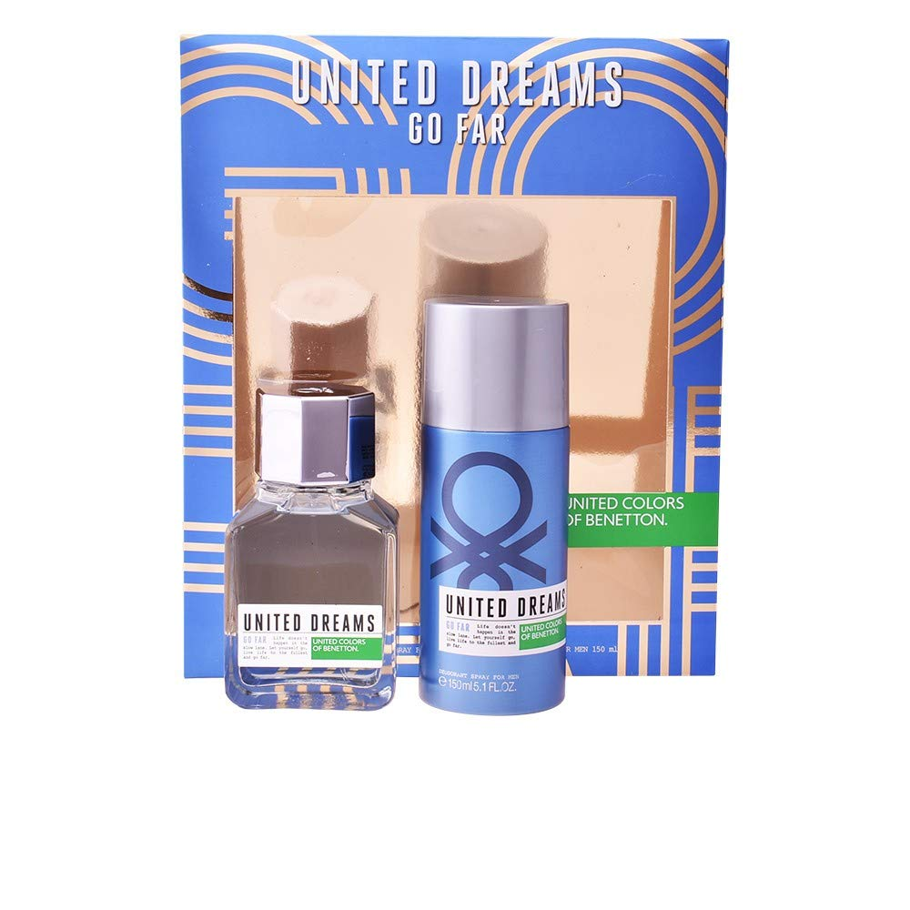 Benetton United Dreams Go Far For Men Set de Regalo - 1 Pack: Amazon.es: Belleza