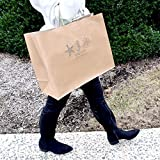 "16x6x12"" - Brown Kraft Paper Bags with"