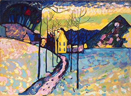 Amazon Com Neron Art Wassily Kandinsky Winter Landscape