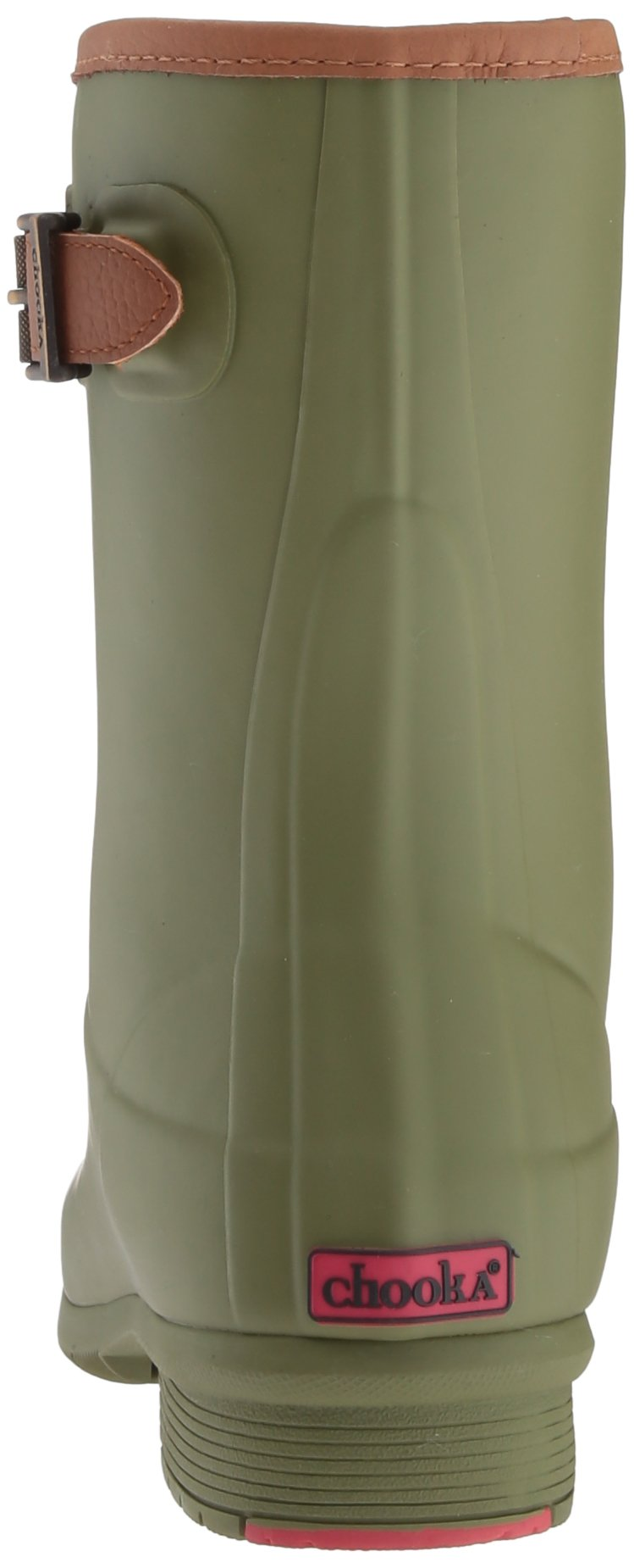Chooka Women's Mid-Height Memory Foam Rain Boot, Olive, 9 M US by Chooka (Image #2)