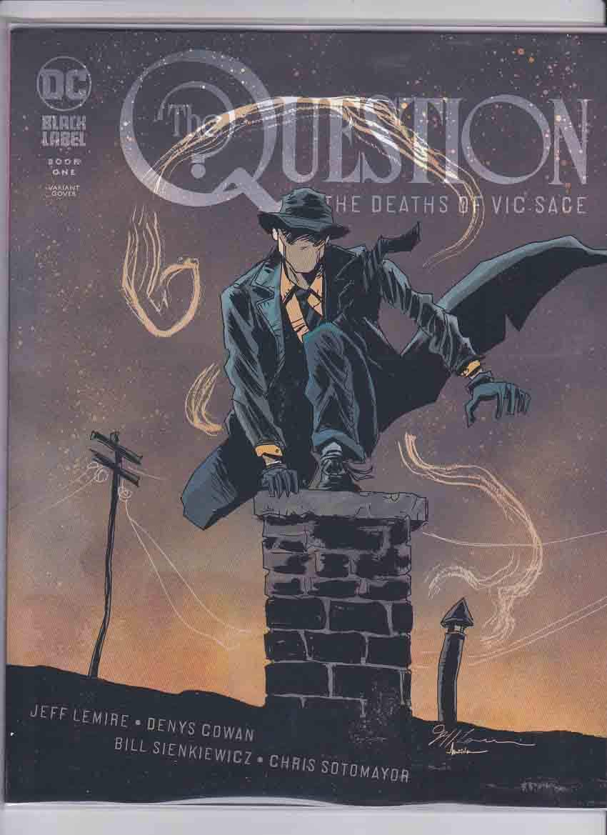 The Question The Deaths of Vic Sage #1