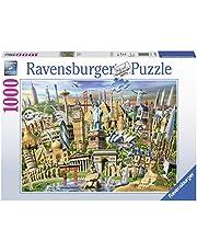 Ravensburger Ravensburger - World Landmarks 1000pc Jigsaw Puzzle