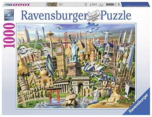 - Ravensburger 19890 World Landmarks Jigsaw Puzzle (1000 Piece)