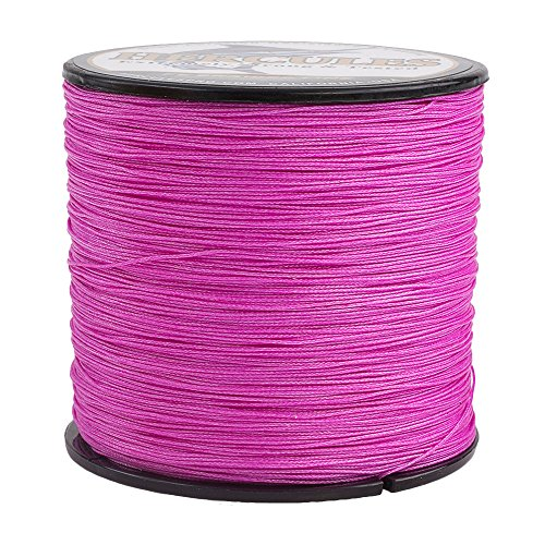 Hercules Braided Fishing Line 500m 547yds 10lbs-300lbs Pe Dyneema Superline 8 Strands (Pink 50lb/22.7kg ()
