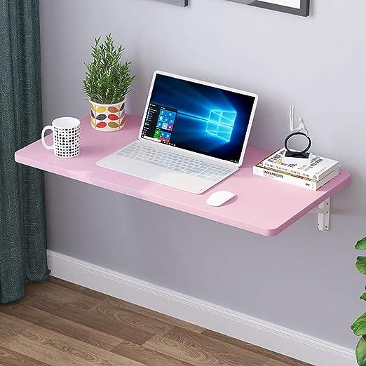 SjYsXm-wall table Mesa de Comedor Plegable de Color Rosa Mesa de ...