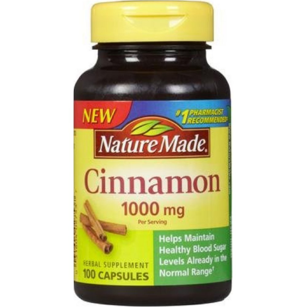 Buy herbal supplements 1000 count capsules - Amazon Com Nature Made Cinnamon Capsules 1000 Mg 100 Count Health Personal Care