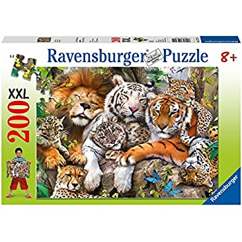 Big Cat Nap Jigsaw Puzzle, 200-Piece
