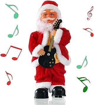 Shihong-G Navidad Eléctrica Papá Noel Cantando Bailando Saxofón ...