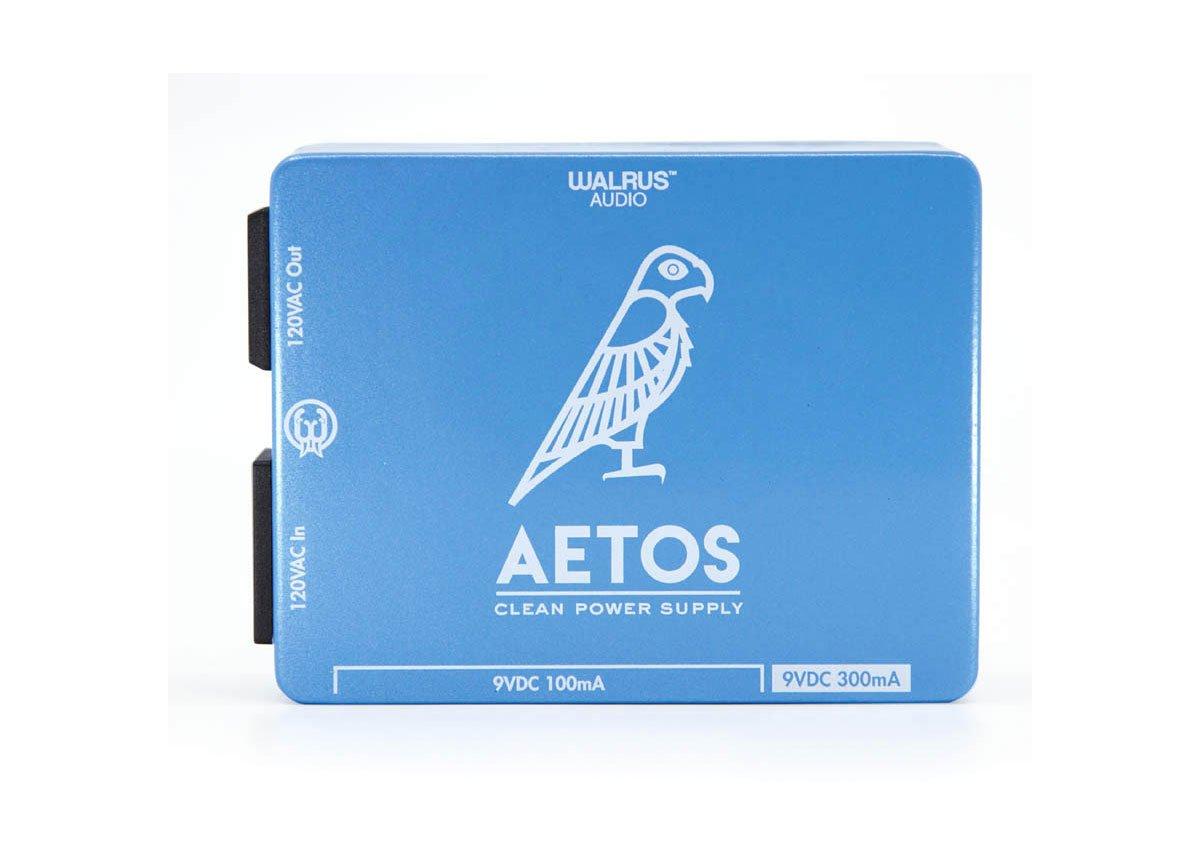 Walrus Audio Aetos 8-Output 120V Power Supply - Blue & White