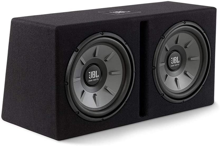 JBL STAGE1220B Caja con 2 Subwoofers Box Dual Stage 1220B 12